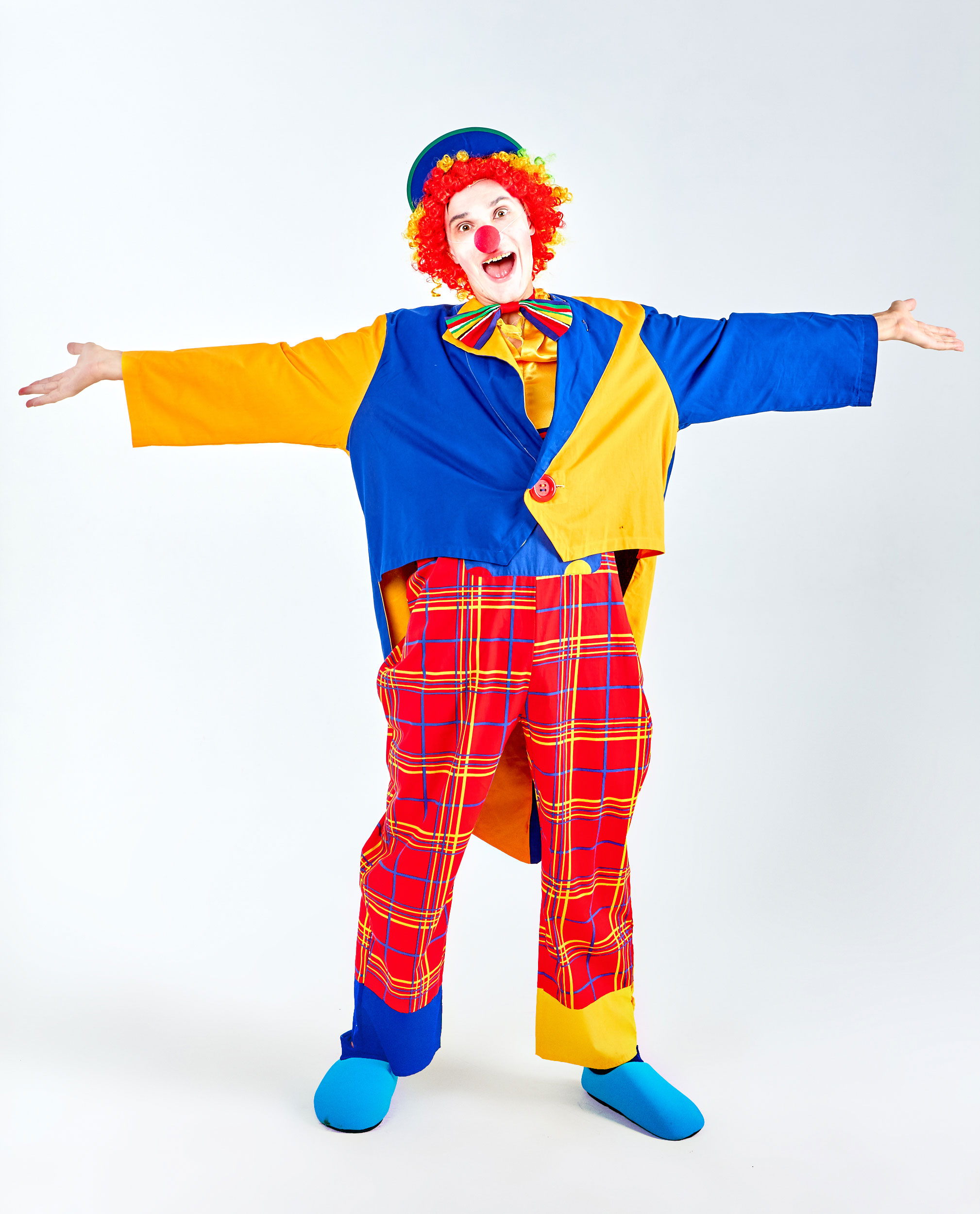 Картинки про клоуна, рыжих котов